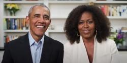 Ông bà Obama giục sinh viên bỏ phiếu bầu tổng thống Mỹ để thay đổi