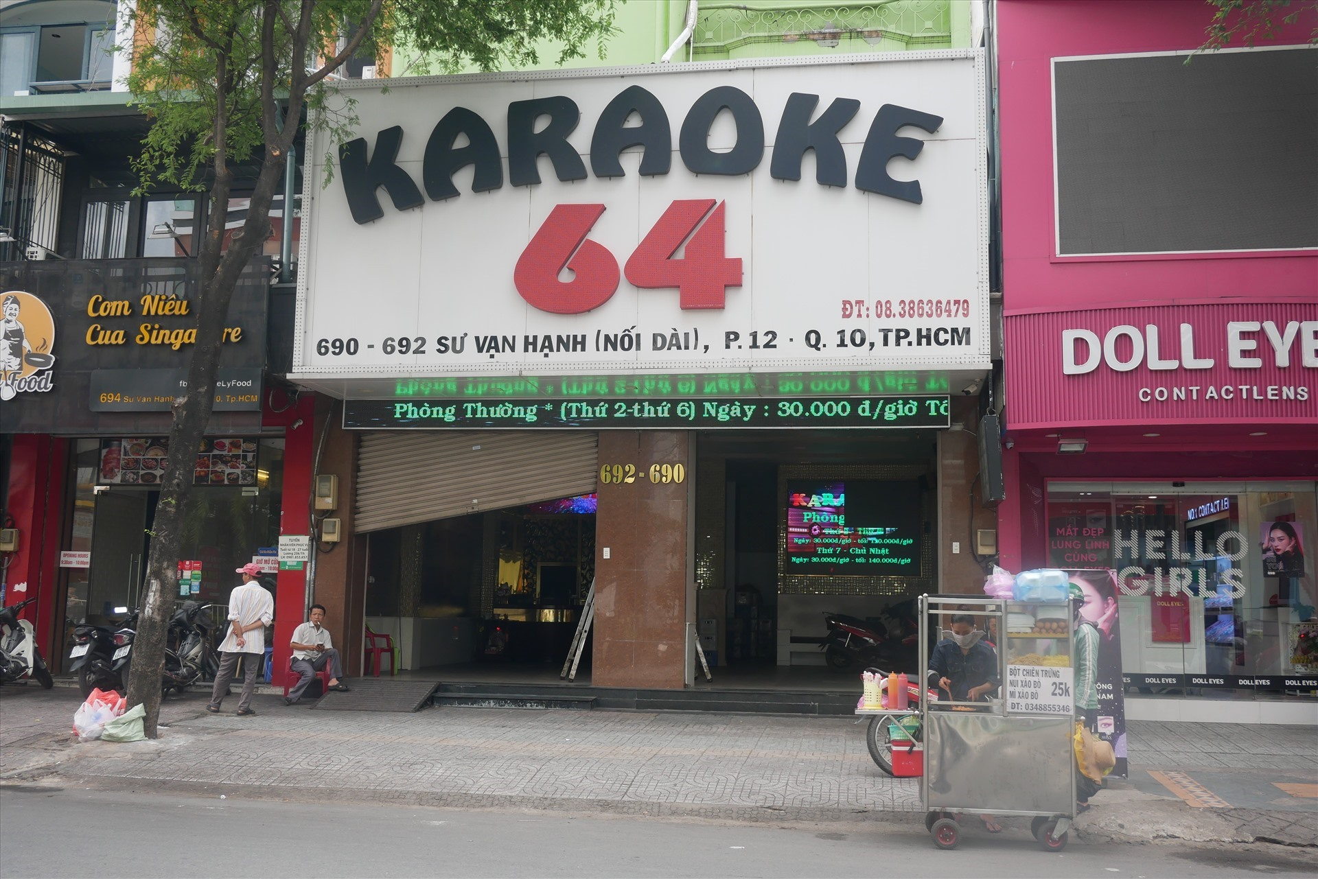 tphcm chinh thuc cho vu truong karaoke hoat dong tro lai
