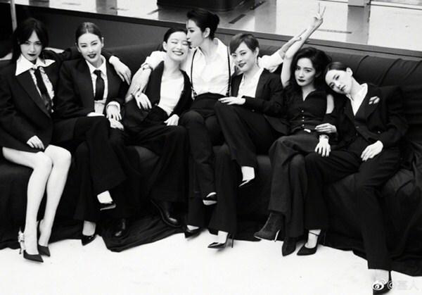 Bức ảnh chụp chung 7 nữ minh tinh Trung Quốc gây bão mạng - 2