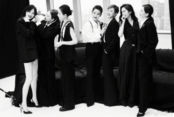 Bức ảnh chụp chung 7 nữ minh tinh Trung Quốc gây bão mạng