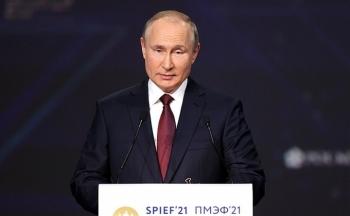 Tổng thống Putin hy vọng cuộc gặp với ông Biden sẽ mang tính xây dựng