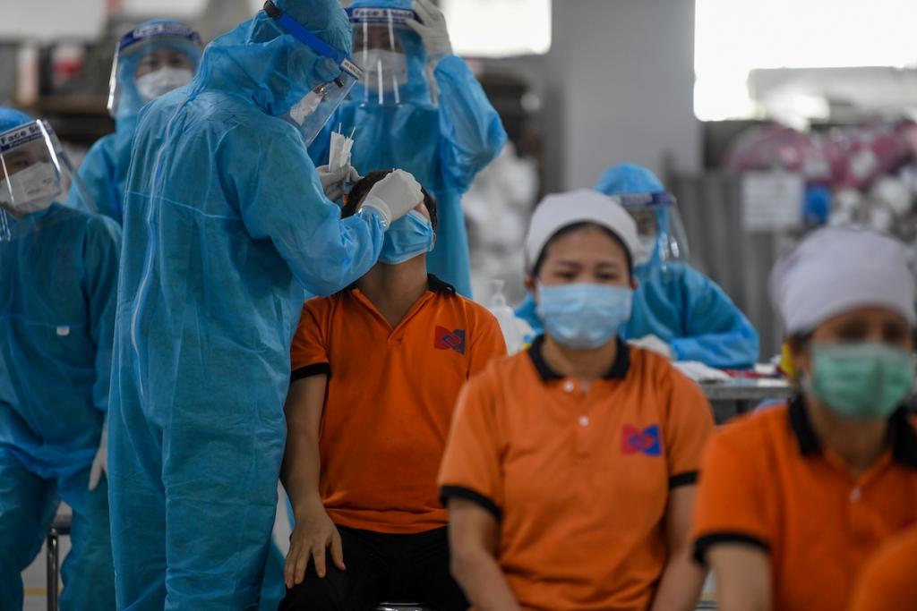 Gần 100 doanh nghiệp ở Bắc Giang hoạt động trở lại