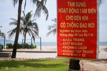 Đà Nẵng cấm tắm biển và bán ăn uống tại chỗ