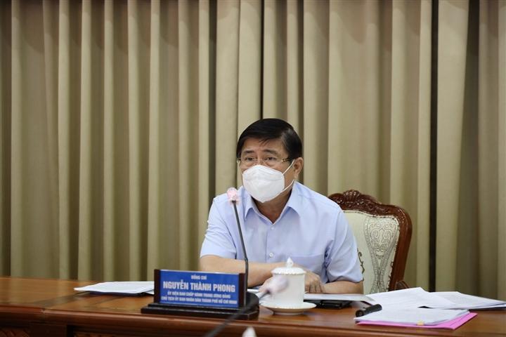 Ông Nguyễn Thành Phong:  TP.HCM hiện có 6 nơi nguy cơ lây nhiễm COVID-19 rất cao - 1
