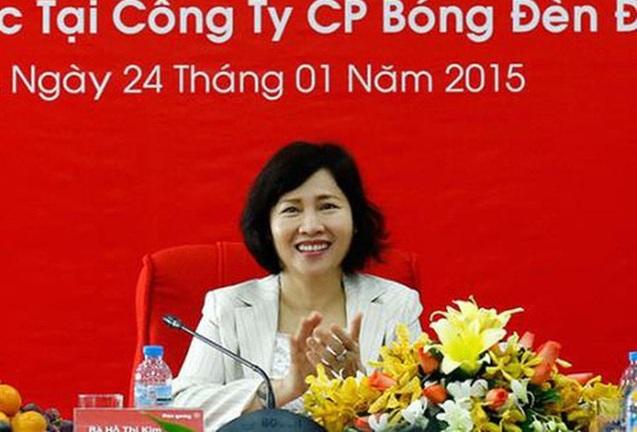 su nghiep lung lay nhung day on ao cua ba ho thi kim thoa truoc khi bi khoi to vi ban dat vang