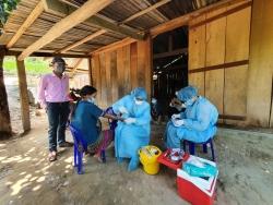 Dịch bạch hầu bùng phát tại Đắk Lắk: Ngành Y tế lập trạm xá dã chiến