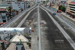 Hà Nội 24h: Cận cảnh đường Vành đai 2 trị giá 9.400 tỉ đồng sắp hoàn thiện