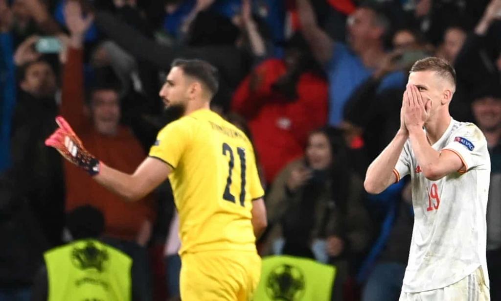 Italy vào chung kết Euro 2021 sau loạt luân lưu - VnExpress