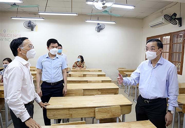 Chủ tịch Hà Nội: Chống dịch phải quyết liệt, triệt để ngay từ đầu