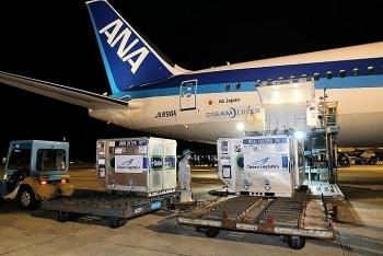Thêm một triệu liều vaccine Covid-19 Nhật tặng sắp về Việt Nam