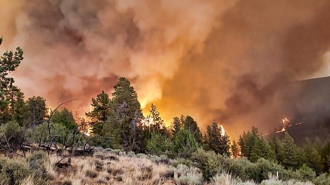 Bão lửa lại hoành hành tại các bang miền Tây nước Mỹ - 1