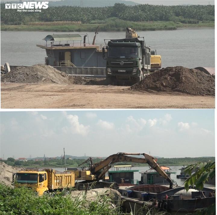 Lợi dụng dịch COVID-19, binh đoàn xe quá tải cày nát đê sông Đuống mùa mưa bão - 2