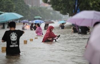 25 người chết vì trận mưa