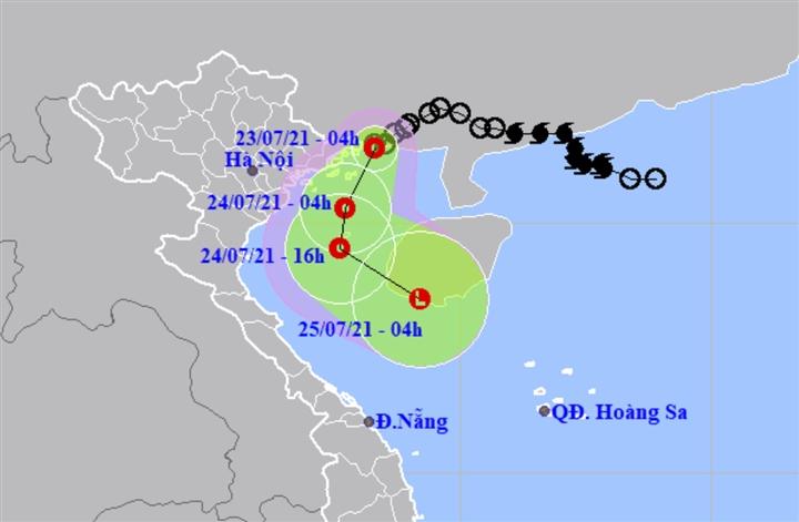 Áp thấp nhiệt đới cách Quảng Ninh 40km, Bắc Bộ mưa rất lớn - 1