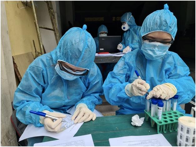 Thêm 21 người dương tính SARS-CoV-2 ở Hà Nội