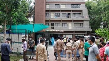 8 bệnh nhân COVID-19 tử vong trong vụ cháy bệnh viện ở miền tây Ấn Độ