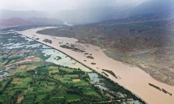 Trung Quốc kích hoạt ứng phó khẩn cấp lũ lụt trên sông Hoàng Hà