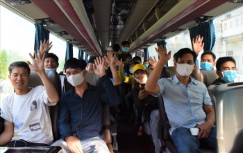 Cần Thơ: Đưa 198 người về từ Brunei, Indonesia hoàn thành cách ly về quê