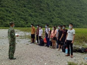 Phát hiện 24 người nhập cảnh trái phép từ Trung Quốc về Việt Nam