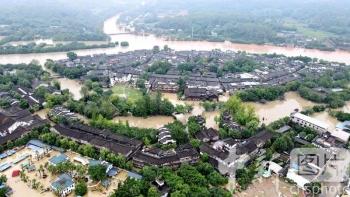 Trung Quốc: Tứ Xuyên hứng lũ hiếm thấy 100 năm, Cửu Trại Câu đóng cửa gấp