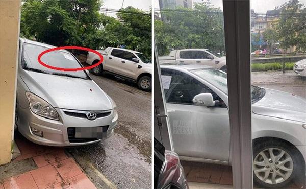 Đậu xe không đúng chỗ rồi rời đi, tài xế 'tái mặt' với dòng chữ viết trên tờ giấy dán nơi kính xe - Ảnh 1