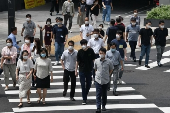 Hàn Quốc: Số ca mắc COVID-19 trong ngày cao nhất 5 tháng qua