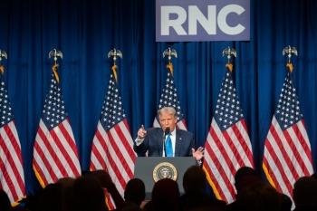 Bầu cử Mỹ: Đảng Cộng hòa chính thức tái đề cử Tổng thống Donald Trump