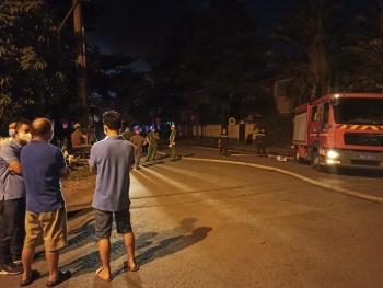 TP.HCM: Cháy lớn trong Khu công nghiệp Tân Tạo