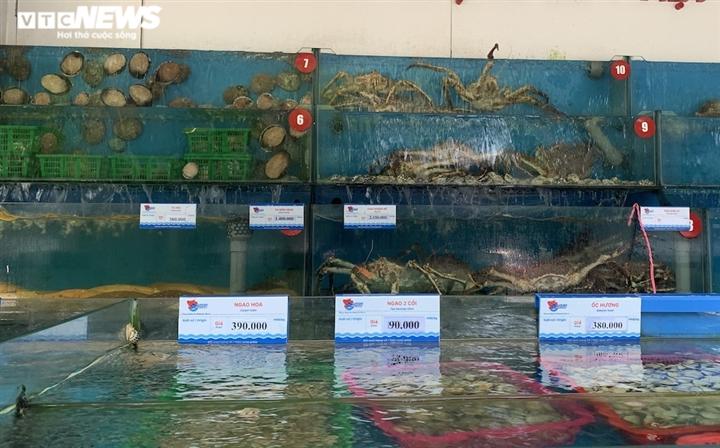 Hà Nội: Hải sản dành cho nhà giàu giảm giá kỷ lục vẫn ế ẩm - 2