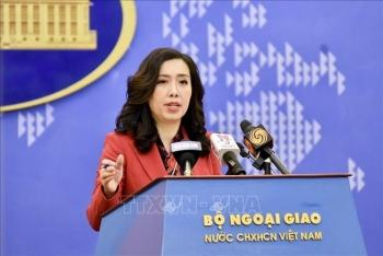 Trung Quốc phải chấm dứt các hành động vi phạm chủ quyền Việt Nam