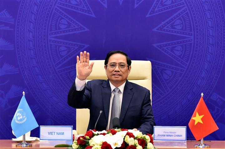 Thủ tướng Phạm Minh Chính nêu đề xuất ứng phó thách thức an ninh biển tại HĐBA - 1