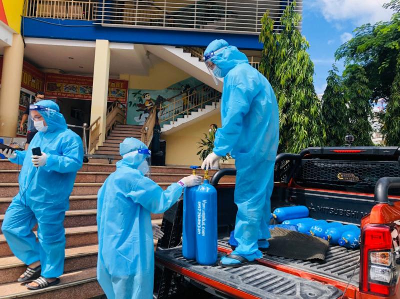 Hà Nội đảm bảo đáp ứng oxy y tế cho tình huống có 40.000 bệnh nhân COVID-19 -0