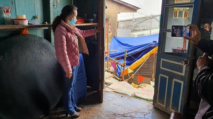 Nứt đất mạnh giữa Đà Lạt, di dời khẩn cấp 4 gia đình -0