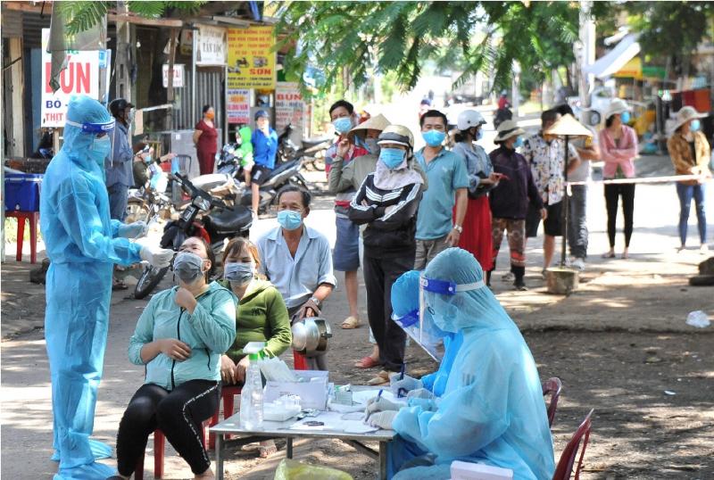 TP Buôn Ma Thuột phát hiện chùm ca bệnh 7 trường hợp dương tính chưa rõ nguồn lây -0