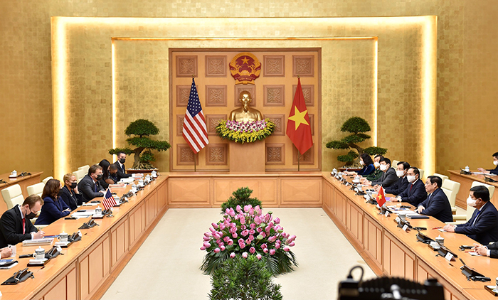 Phát triển quan hệ Đối tác toàn diện Việt Nam-Hoa Kỳ ngày càng thực chất, hiệu quả, ổn định lâu dài -0
