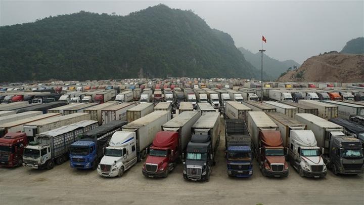 Trung Quốc tạm dừng xuất nhập khẩu qua cửa khẩu Lũng Vài - 1
