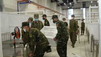 2.230 cán bộ, chiến sĩ  quân đội hỗ trợ Bình Dương phòng, chống dịch