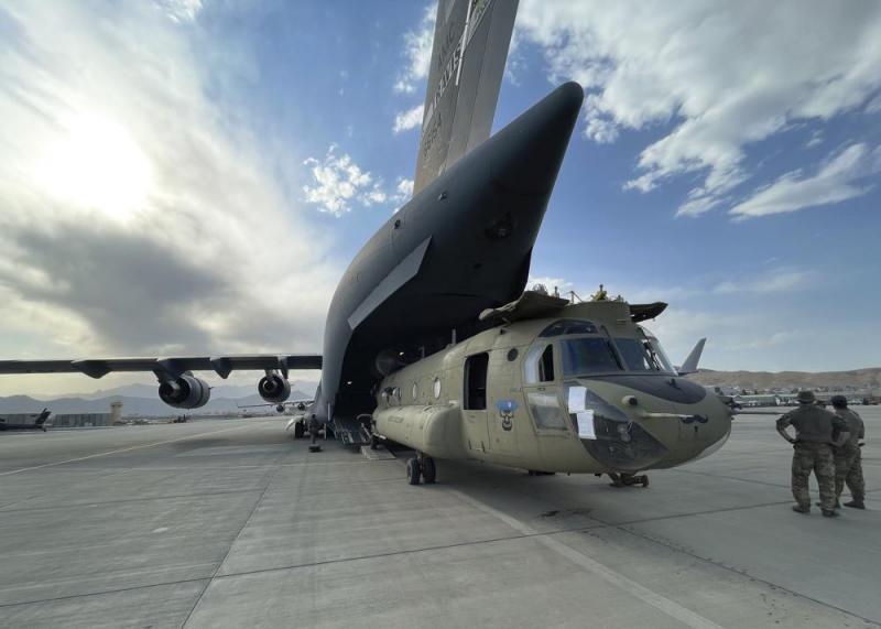 Binh sĩ cuối cùng của Mỹ rời khỏi Afghanistan -0