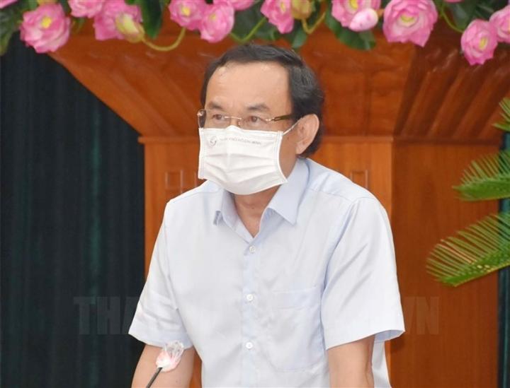 """Bí thư Nguyễn Văn Nên: """"TP.HCM không thể áp dụng Chỉ thị 16 mãi được"""""""