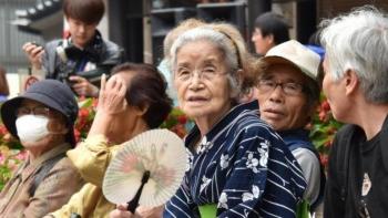 Số người già trên 100 tuổi của Nhật Bản nhiều nhất thế giới