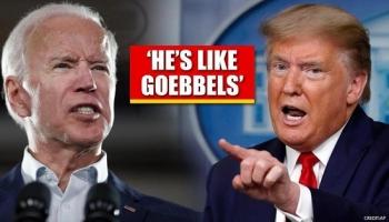 Ông Biden so sánh Tổng thống Trump với bộ trưởng tuyên truyền Đức Quốc xã