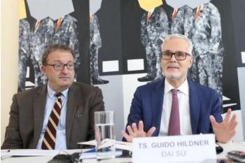 Đại sứ Đức nói về công hàm Biển Đông phản đối yêu sách của Trung Quốc