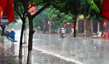 Thời tiết ngày 2/9: Cả nước mưa rào và dông