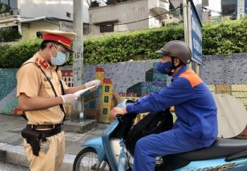 Hà Nội đã cấp trên 20.000 giấy đi đường theo quy định mới
