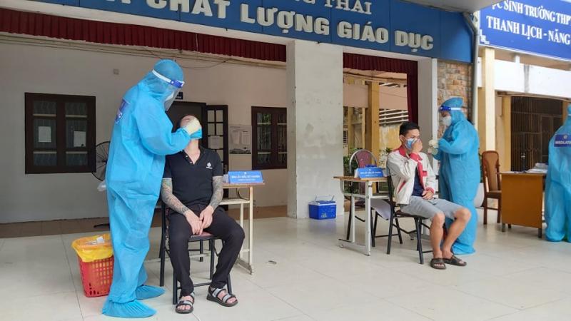 Sáng 7/9, Hà Nội có 5 ca dương tính, 1 ca trong cộng đồng từng đã nhiễm SARS-CoV-2 -0