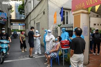 Trưa 22/9, Hà Nội công bố 5 ca dương tính SARS-CoV-2