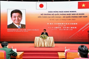 Bài phát biểu đặc biệt của Bộ trưởng Quốc phòng Nhật trong chuyến thăm Việt Nam