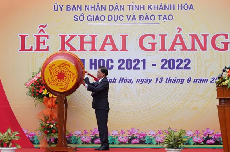 Khánh Hòa khai giảng năm học mới tại huyện miền núi Khánh Vĩnh và huyện đảo Trường Sa. -0
