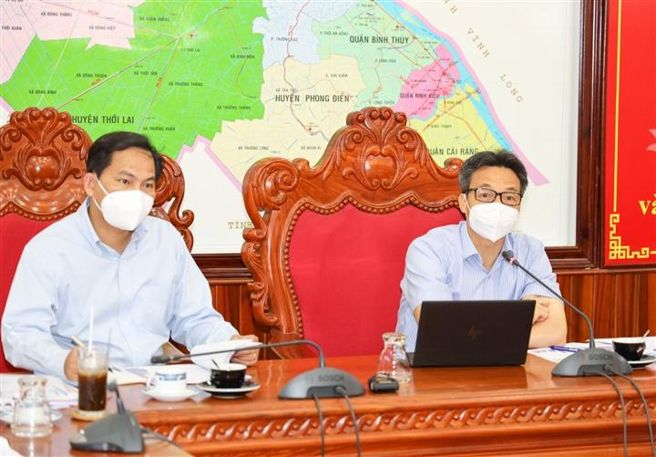 Phó Thủ tướng: Cần Thơ mở lại sản xuất chắc chắn, an toàn nhưng phải mạnh dạn