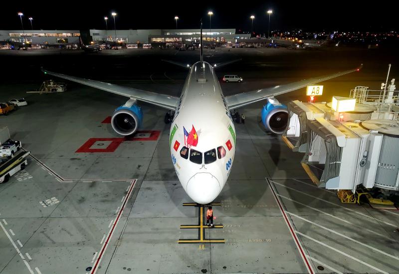 Bamboo Airways thực hiện chuyến bay thẳng đầu tiên tới Mỹ